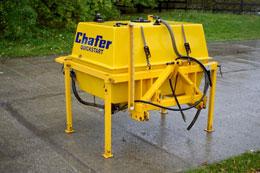 CHAFER Quickstart liquid fertiliser linkage mounted tank