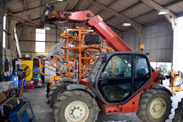 MANITOU MLT 629 telescopic forklift