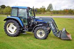 NEW HOLLAND TS115 SLE 4wd tractor