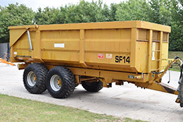 RICHARD WESTERN SF14 14 tonne grain trailer