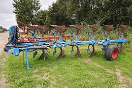 2014 LEMKEN Jewel 8 7 furrow (6+1) on-land/in-furrow mounted plough