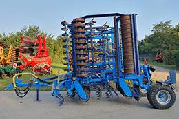 2017 FARMET Kompaktomat K600 6m seedbed preparation cultivator