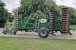 2015 SIMBA Great Plains SLD 540 5.4m 9 leg cultivator