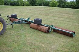 2000 COUSINS 12.3m Sidewinder horizontal fold rolls