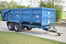 2010 AS Marston ACE 14t trailer