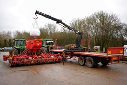 MISC-AG 36ft twin axle flat trailer