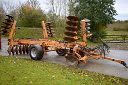 SIMBA 5.5m Mk2 Disc Harrows