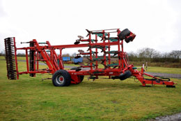 KVERNELAND 6m CTS Stubble Finisher