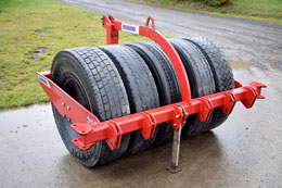 SUMO 1.5m front tyre press
