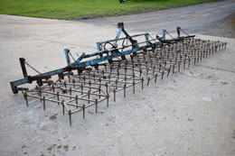 PARMITER 6m / 21ft Zigzag harrows
